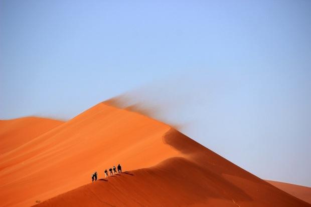 WalkRunHike - Sand Dunes Namibia