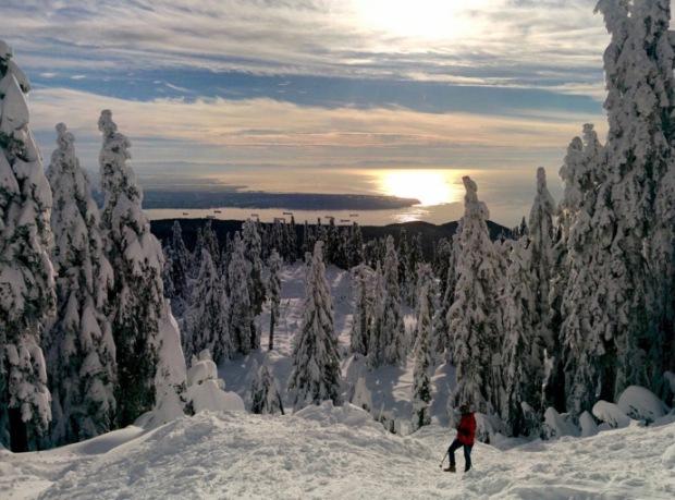 Hollyburn Peak Cypress Provincial Park Snowshoeing Season is on