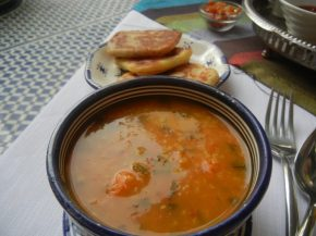 A Winter's Soup – Breakfast in Morocco