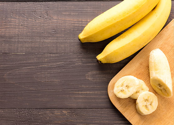The Top 5 Post-Workout Snacks for Runners - Bananas are loaded with potassium.