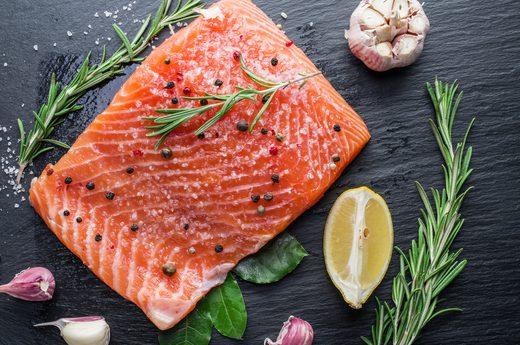 Wild Salmon - 21 Anti-Aging Foods