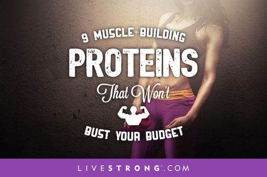 9 Muscle-Building Proteins - 9 Muscle-Building Proteins That Won't Bust Your Budget
