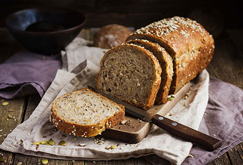 whole grain bread - 9 Ways to Eat Clean