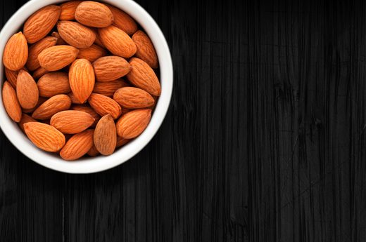 14. Almonds