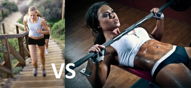 Cardio vs. Weights