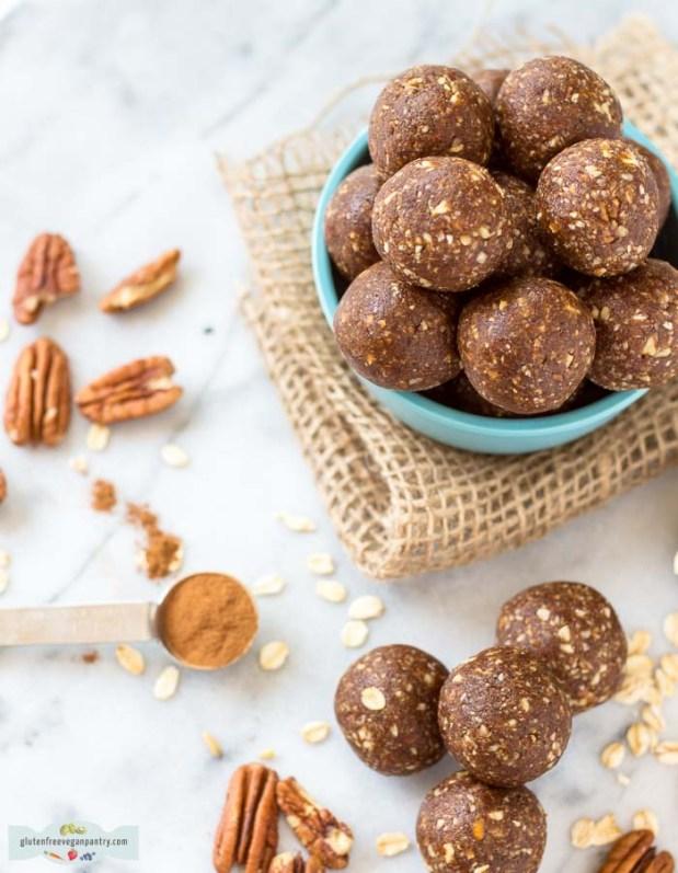"""Pecan """"Pie"""" Protein Balls Recipe 2"""