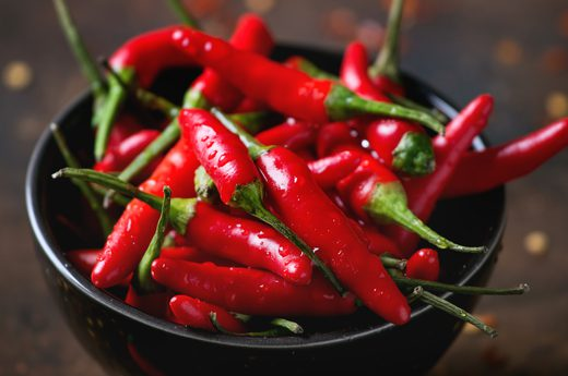 2. Worst: Hot Peppers