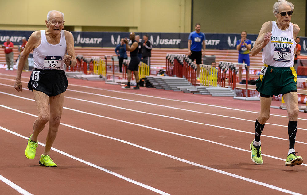 99-Year Old Upsets 92-Year Old in Thrilling Sprint