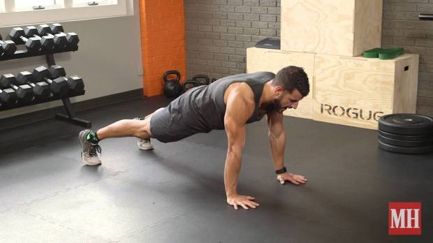 An All-New Way to Do Mountain Climbers