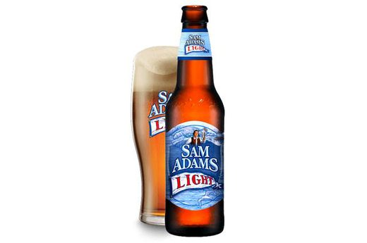 11. Sam Adams Light Lager