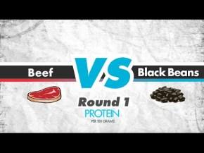 Beef Vs Black Beans