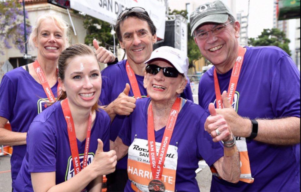 94-Year-Old Harriette Thompson Just Set a New Half Marathon Record