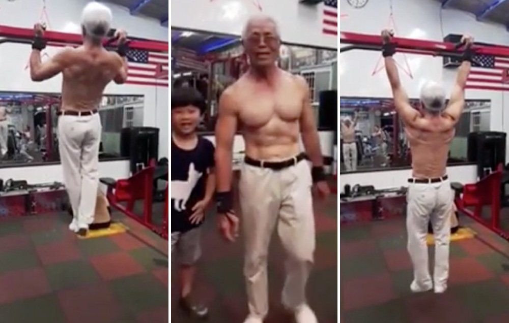 Taiwan Strongest Grandpa