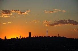Kensington - A Walk Through Living History Johannesburg at dusk from Langermann Kop