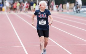 "Julia ""Hurricane"" Hawkins, 101-Year-Old Runs 100-Meters in 40.12 Seconds"