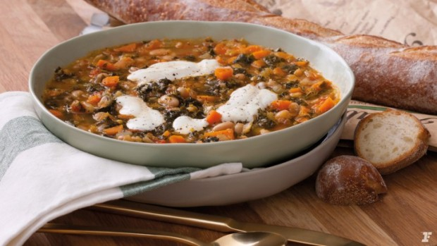 A Flavor-Packed Bean Recipe - Tuscan Vegetable Soup