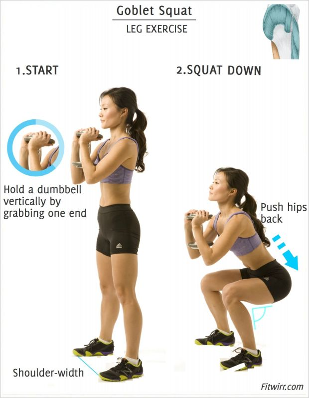 The Swing-and-Squat Combo