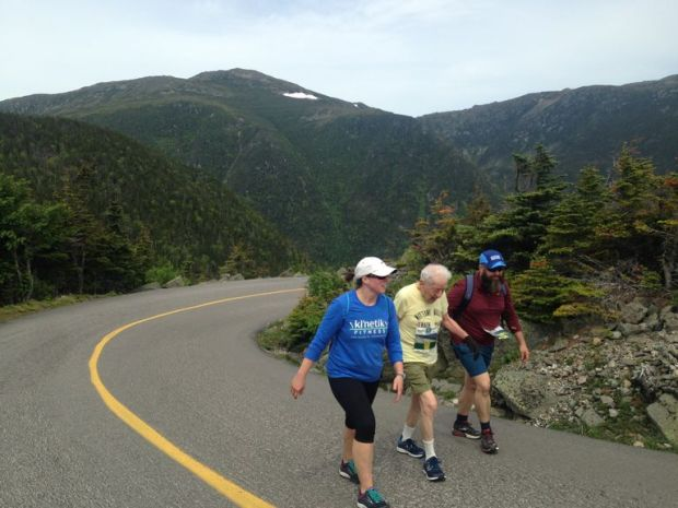 98-Year-Old Conquers Mount Washington Road Race