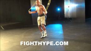 Floyd Mayweather Jr. Insane Skipping - Jump Rope Boxing Skills - The Champ Training